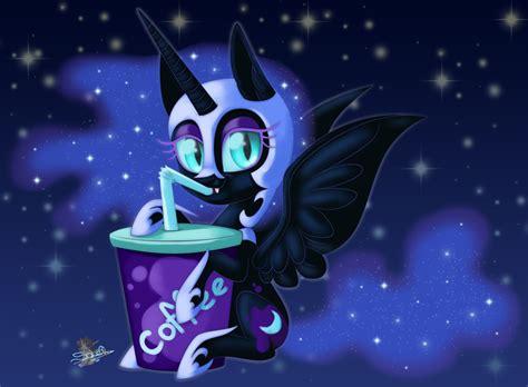 Chibi Nightmare Moon by UniSoLeiL on DeviantArt Q Cup
