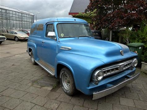 58 Ford Truck by Ford Up Panel Truck 58 Joop Stolze Classic Cars