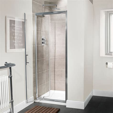 Pivot Shower Door 760 Aquafloe 6mm 760 Pivot Shower Door
