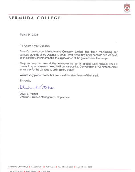 Reference Letter For College College Recommendation Letter Levelings