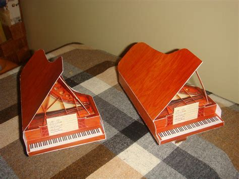 Piano Papercraft - grand crafts