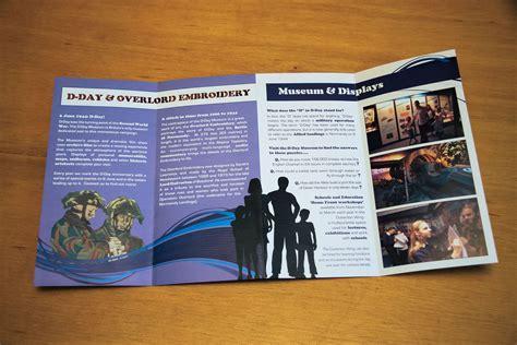 design museum leaflet design of d day museum leaflet