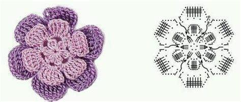 Pola Tas Rajut Behel pola bunga rajut crafts