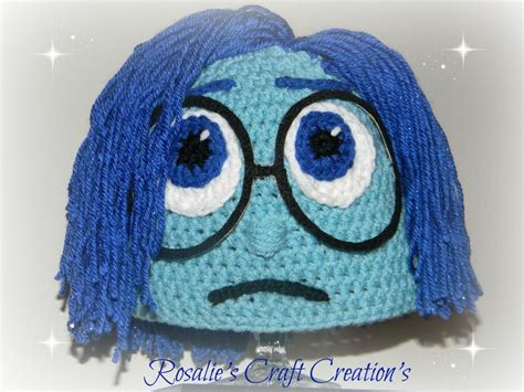 crochet pattern joy crochet hat inside out sadness crochet pinterest