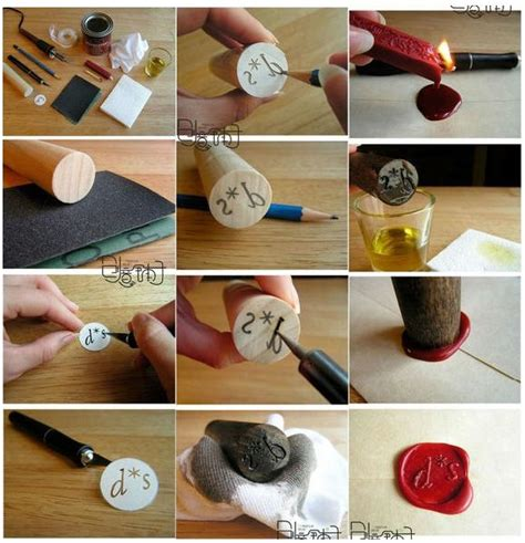 How to make a traditional wax envelope seal   DIY Homer