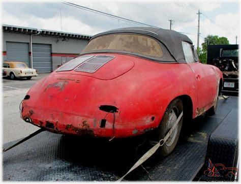 Porsche For Restoration For Sale by Porsche 356 C Convertible Complete Car For Restoration