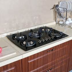 Kitchen Cooktop 30 Quot Black Glass Lpg Ng Built In Kitchen 5 Burner Oven Gas