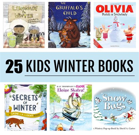 25 of the best winter themed books for kids of all ages awesome to