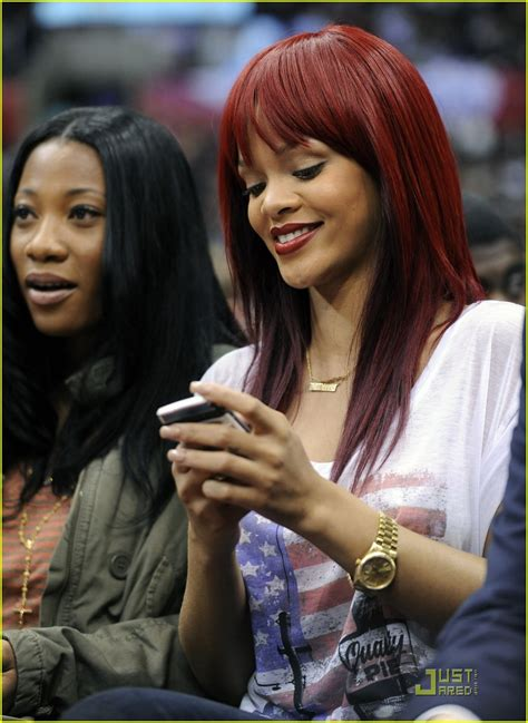 haircut games with clippers full sized photo of rihanna clippers game 01 photo