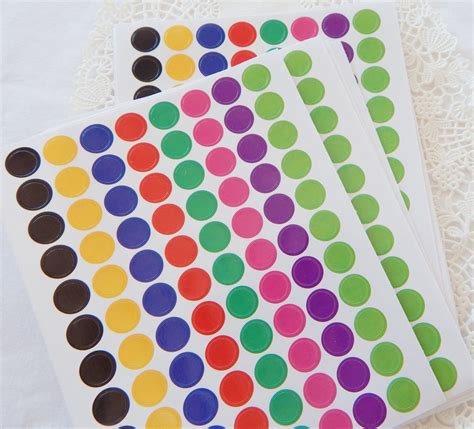 Sticker Dot A Dot colored stickers 28 images colored dot stickers 28