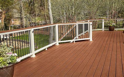 trex deck ideas this backyard built with trex enhance decking in