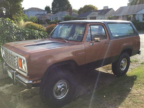 1978 dodge ramcharger for sale 1978 dodge ramcharger cummins 6bta 5 9l auto for sale in