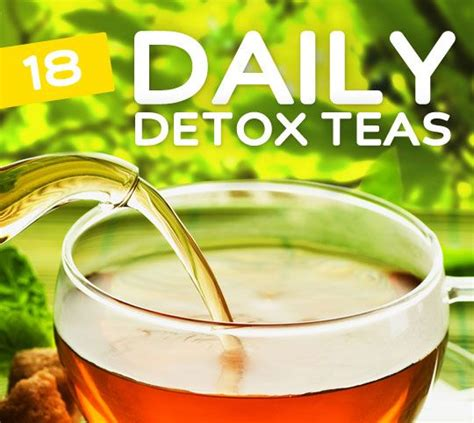 Detox Herb Tea Recipe by 18 Everyday Detox Teas For Daily Cleansing Tea