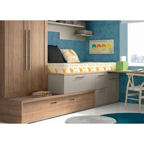cama nido alta con cajones 035 cama alta con nido cajones y armaio www