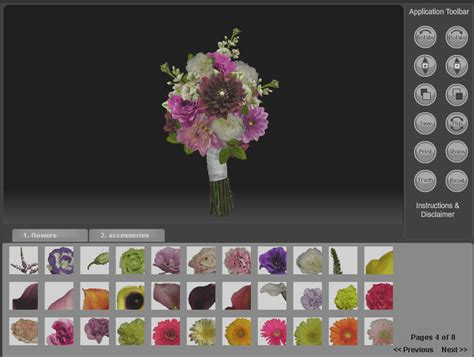 Wedding Bouquet Builder 301 moved permanently