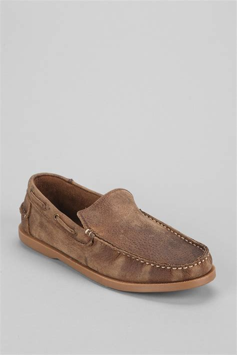 bed stu men s shoes bed stu uncle larry shoe in brown for men light brown lyst