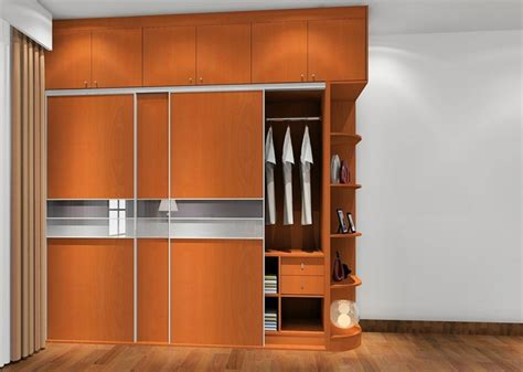 3d bedroom interior design cherry wardrobe 3d house