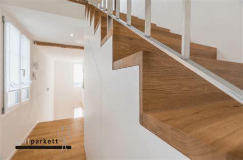 Treppe Mit Holz Belegen by Parkett Treppe 2