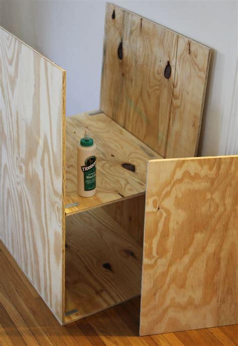 Plywood Shelf by Diy Laundry Room Shelf A Beautiful Mess
