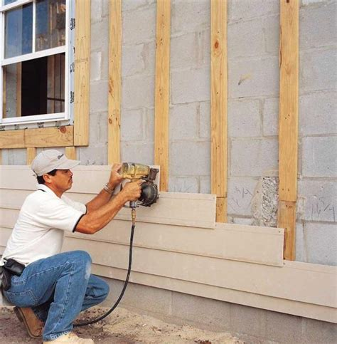 how to install wood siding on a house the advantages of fiber cement siding green homes mother earth news