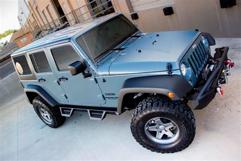 Jeep Wrangler Running Boards Ici 174 Jeep Wrangler 2007 2017 Magnum Rt Series Wheel To