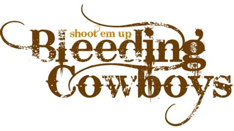 tattoo font bleeding cowboy fonts bleeding cowboys bliss miscellaneous