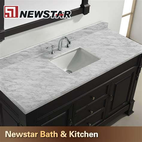 prefab granite bathroom vanity countertops prefab white carrera marble vanity top with undermount