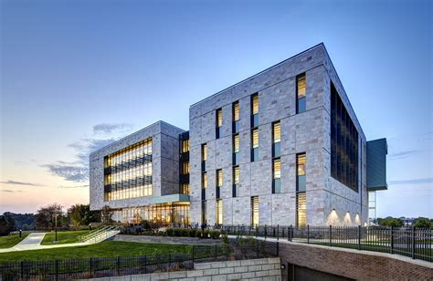 Modern Art Deco Architecture by Pew Library S Multi Hued Stone Facade Nods To The Campus S