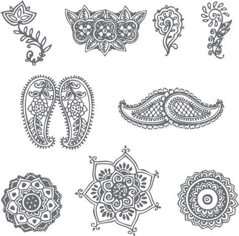 henna design patterns simple decorative henna patterns 600x594 png 600 215 594