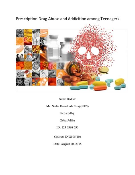 Drugs And Detox Center Industry Analysis by Research On Prescription Abuse And Addiction Among