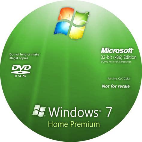 windows 7 home premium disc by nubixx on deviantart