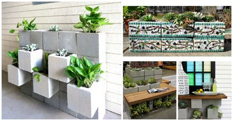 cinder block planter cinder block planter ideas archives my amazing things