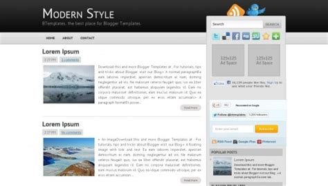 divine design teal modern blogger template image gallery modern blog templates