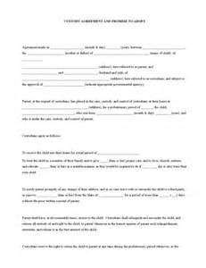 child visitation agreement template custody agreement legalforms org