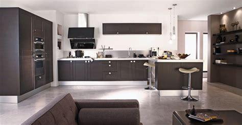 decoration des cuisines modernes d 233 co salon cuisine moderne exemples d am 233 nagements