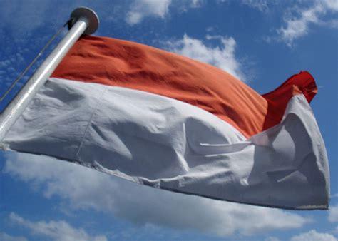 Teh Kotak Bendera sang saka merah putih dan bendera indonesia