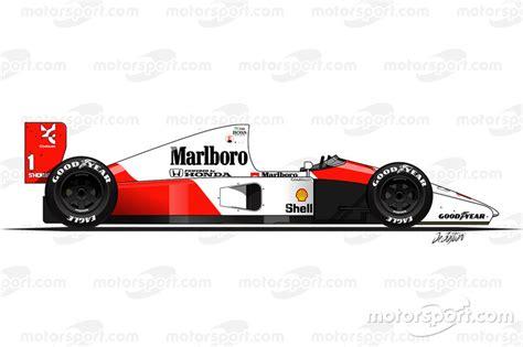 1984 1994 de f1 bolides ayrton senna
