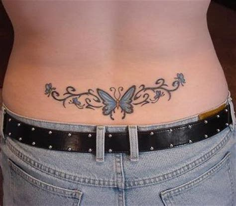 Cute Tattoos On Body 25 Incredible Butterfly Back Butterfly Tattoos On Lower Back