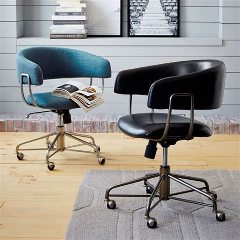 halifax office furniture halifax leather office chair west elm