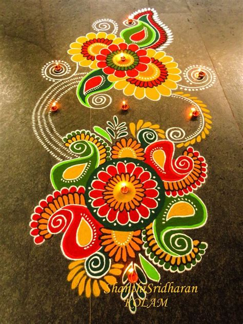 1000 ideas about diwali rangoli on rangoli