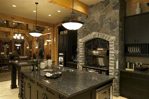Kitchen Cabinet Hardware Trends by The All Black Kitchen Makes A Statement In Luxury Homes