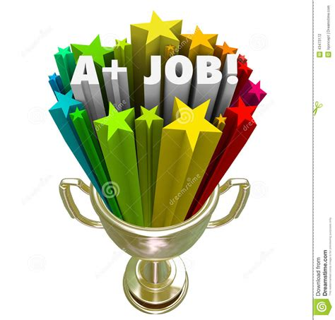 great at work how top performers do less work better and achieve more books a plus words gold trophy top performance award stock