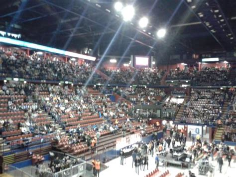 forum assago piantina posti sedere vista dalla tribuna laterale foto di mediolanum forum