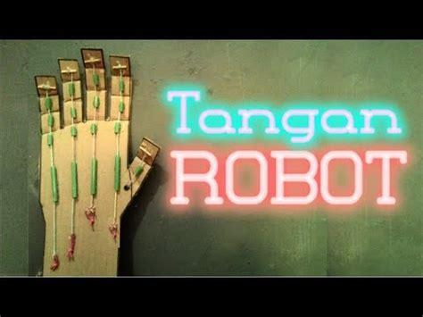 membuat robot sederhana dari kardus cara membuat tangan robot dari kardus bekas ide mainan