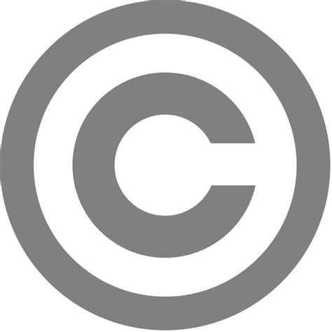 file grey copyright svg wikimedia commons