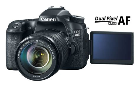 canon 70d canon 70d with dual pixel cmos af the dslr that can
