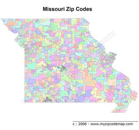 map missouri area codes missouri zip code maps free missouri zip code maps