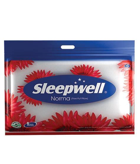 Buy Sleepwell Pillow by Sleepwell Norma Pillow Buy Sleepwell Norma