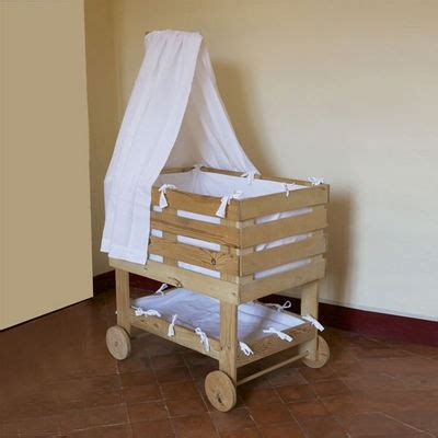 Bedside Baby Cribs Cuna Inspirada En Palets Deco Furniture Furniture And Baby Dolls