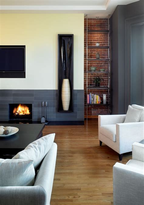 fashionable fireplaces home staging accessories 2014